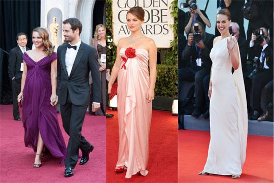 Robe sur tapis rouge Natalie Portman