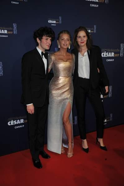 Virginie Efira, Paul Verhoeven avec Isabelle Huppert
